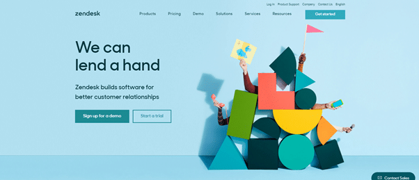 veille landing page